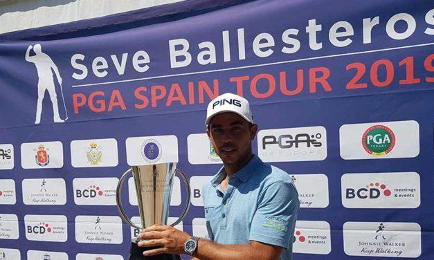 Sebastián García, campeón del Campeonato de Madrid de Profesionales FGM-PGAe
