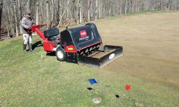 Sincronización del campo de golf