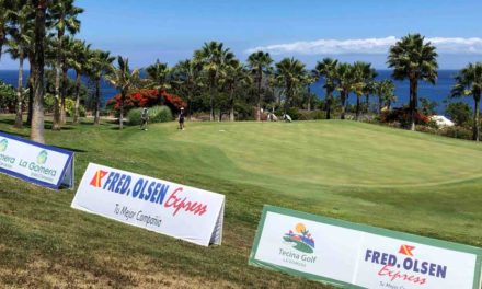 Tecina Golf, el mejor escaparate internacional con la disputa del Fred. Olsen Alps de la Gomera