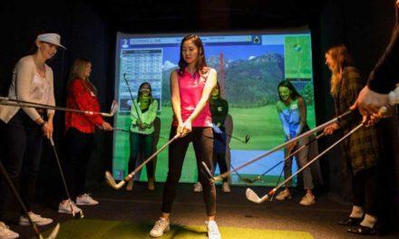 Aquí vienen los simuladores de golf, Chicago