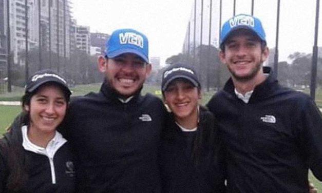 Golf venezolano terminó en sexto puesto en Lima