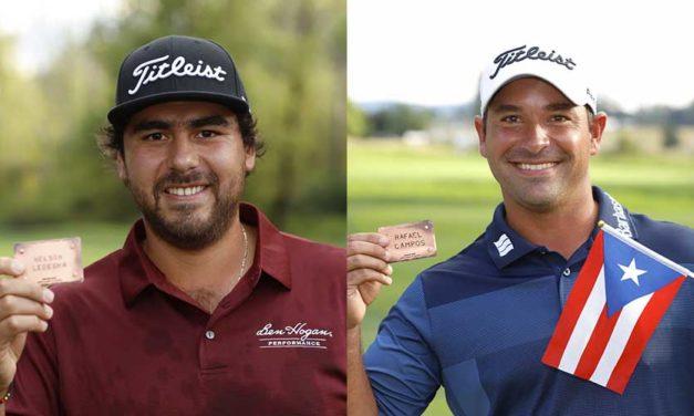 Nelson Ledesma y Rafa Campos confiaron en Titleist para llegar al PGA TOUR