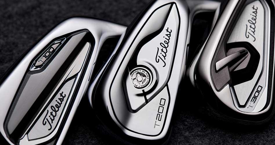Titleist presenta los nuevos hierros Serie-T potenciados con Max Impact