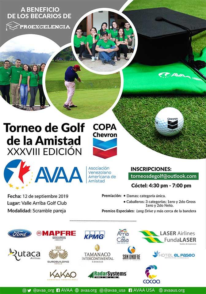 38° Torneo de Golf de la Amistad 12 de Septiembre Valle Arriba Golf Club
